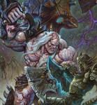 The War of Flesh and Bone-Detail