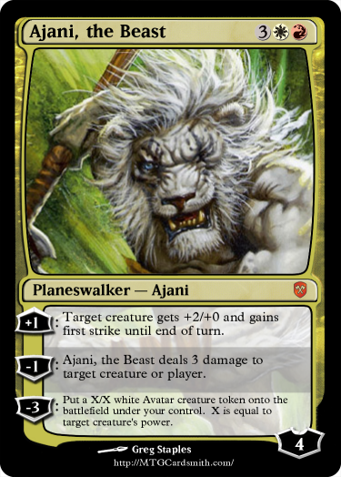 Magic the Gathering Deck Builder and Spoiler: Ajani in ...