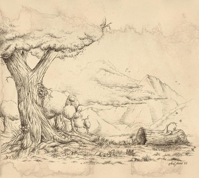 Landscape by Anatoliba