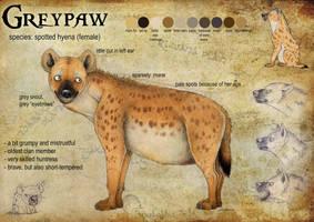 Greypaw Reference Sheet by Anatoliba