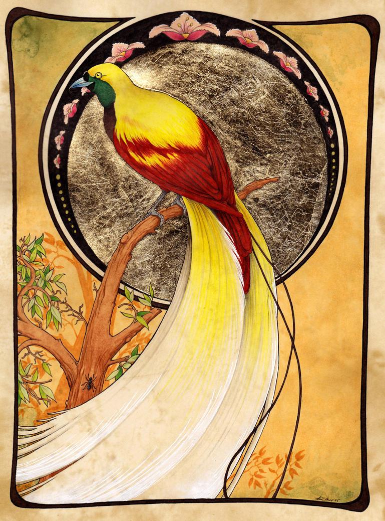 Bird Of Paradise by Anatoliba
