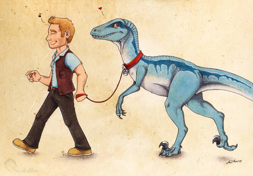 Take The Raptor For A Walk