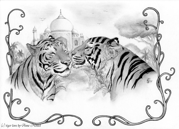 tiger_love_by_anatoliba by Anatoliba