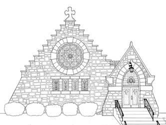 Grace Episcopal Church by SilntAngl5