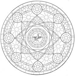 The Rose Window - Inked