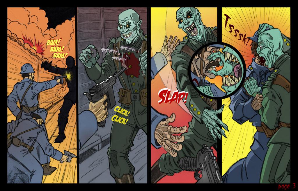 World War 1 Horror Comic By Smaroon On Deviantart