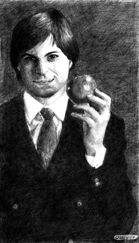 Steve Jobs by Savay