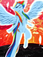 Beautiful Rainbow (Dash) by Natsumushi