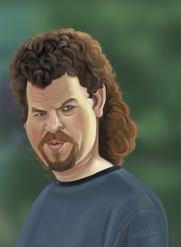 Kenny F---ING POWERS by LyleDoucetteArt