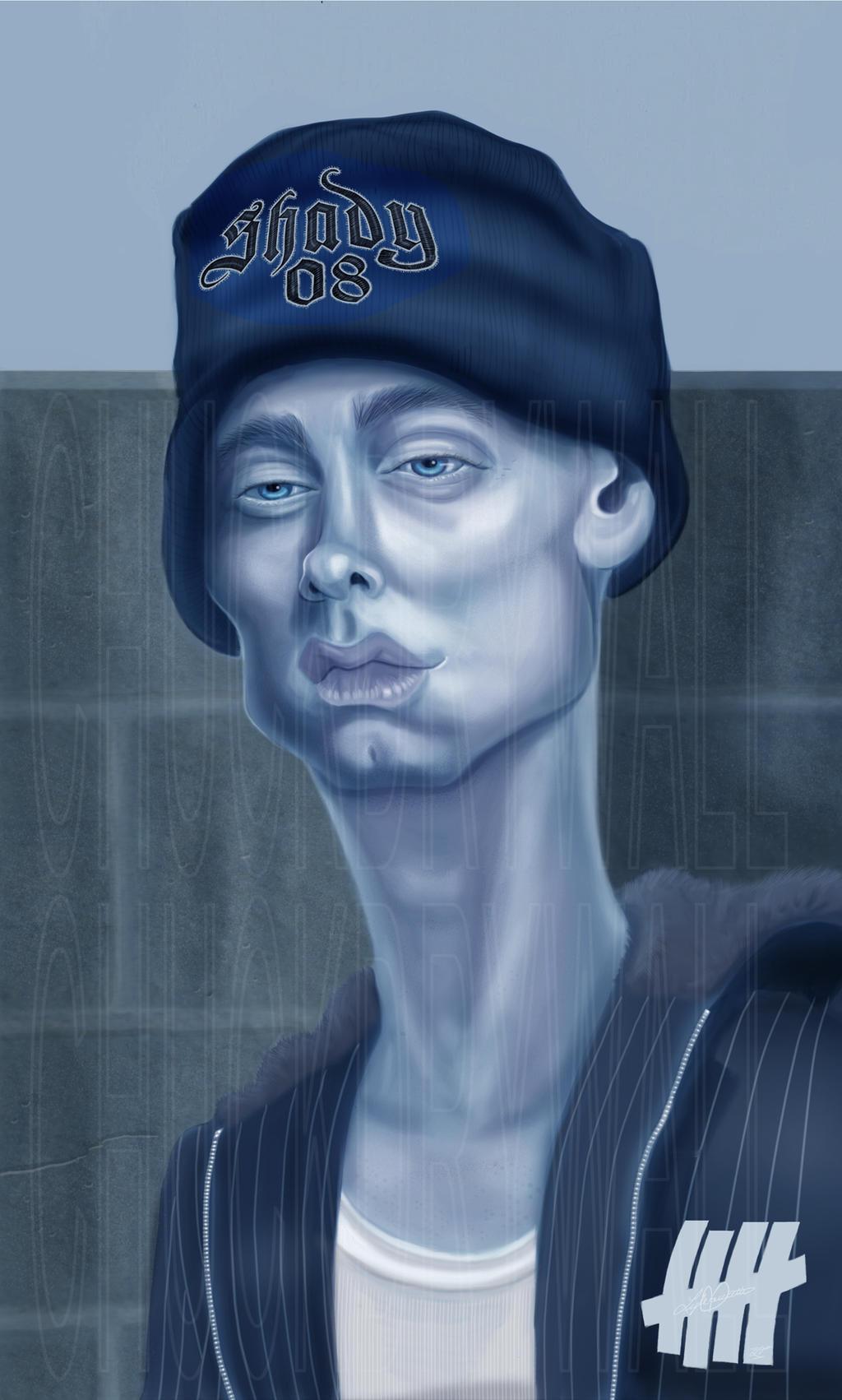 Eminem by LyleDoucetteArt