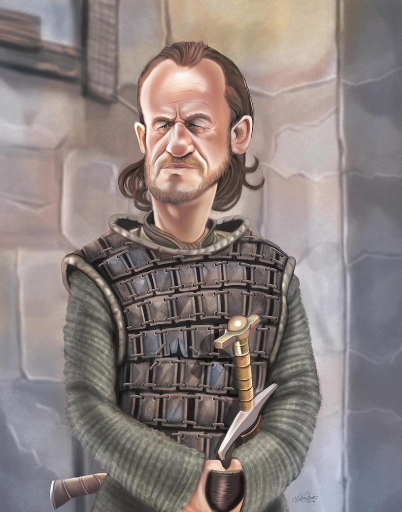Bronn by LyleDoucetteArt