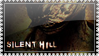 Silent Hill stamp no frame by woolfier