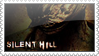 Silent Hill stamp white frame by woolfier