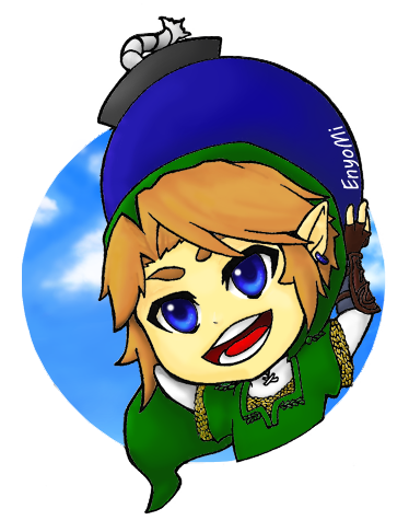 Watch out Links got a bomb! by EnyoMi