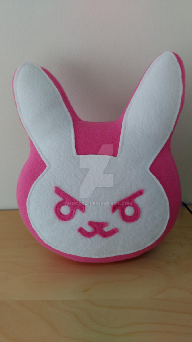 D.Va Bunny Pillow by ChoCoBa