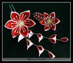 Passion Flower Pair