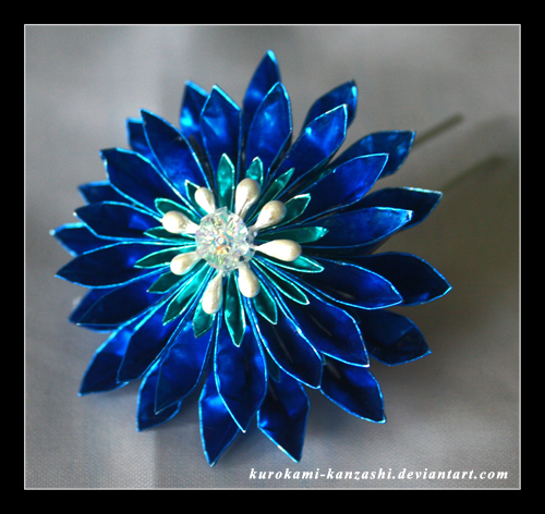 Electric Blue by Kurokami-Kanzashi