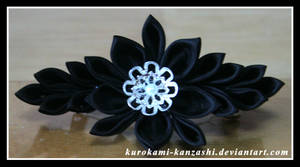 Gothic Star Flower by Kurokami-Kanzashi