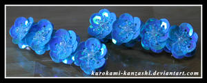 Sparkley Blue Bands