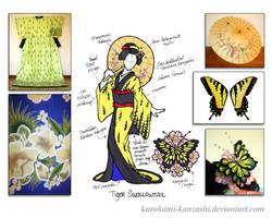 Tiger Swallowtail - Kitsuke Concept Sketch
