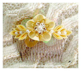 Sweet Sunshine - FOR SALE by Kurokami-Kanzashi