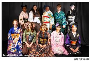 Into the Woods - AN 2019 Kimono Fashion Show