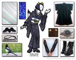 Birds of Paradise - Magpie