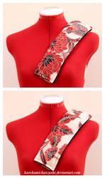 Red Bird Seatbelt Cozy