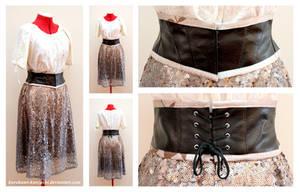 Leather Waist Cinch