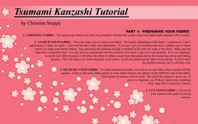 Kanzashi Tutorial - Part I