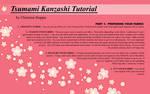 Kanzashi Tutorial - Part I by Kurokami-Kanzashi