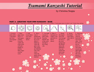 Kanzashi Tutorial - Part 3 by Kurokami-Kanzashi