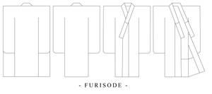 Furisode Design Template