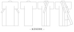 Kosode Kimono Design Template