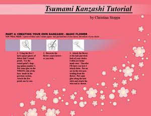 Kanzashi Tutorial - Part 4
