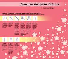 Kanzashi Tutorial - Part 5 by Kurokami-Kanzashi