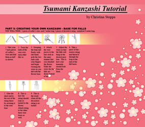 Kanzashi Tutorial - Part 5 by Kurokami-Kanzashi