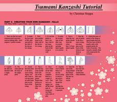 Kanzashi Tutorial - Part 6 by Kurokami-Kanzashi