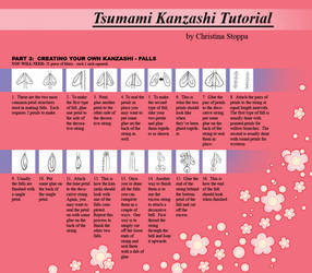 Kanzashi Tutorial - Part 6 by Kurokami-Kanzashi