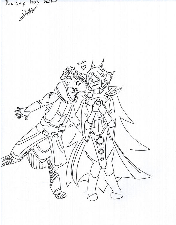 Invoker x Anti Mage by TheDeepestKing