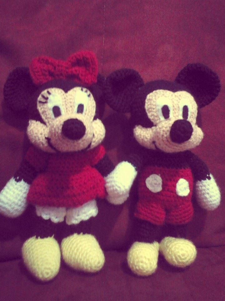 Beautiful Free Crochet Minnie Mouse Doll Pattern Model Sewing