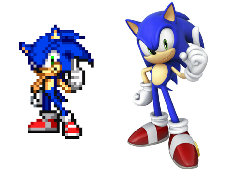 Pixel Sonic Grid Part 499 | METABLUEDB