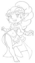 Shantae Magic Mode by LeatherRuffian