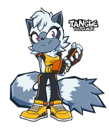 Sonic Battle - Tangle