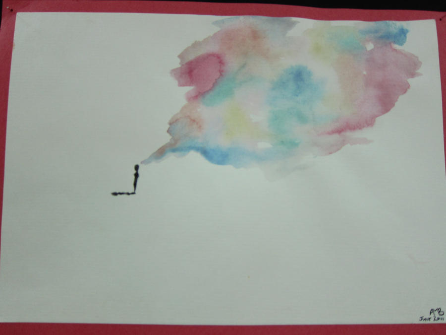 Watercolor ideas by its simple as that on deviantart for Simple watercolor designs