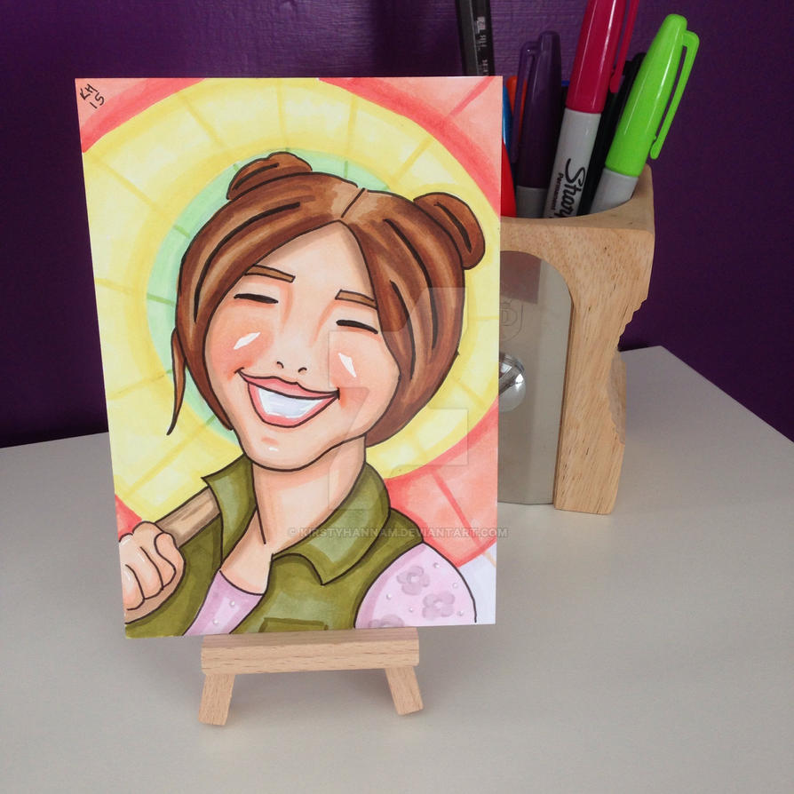 Kaylee marker sketch card by kirstyhannam
