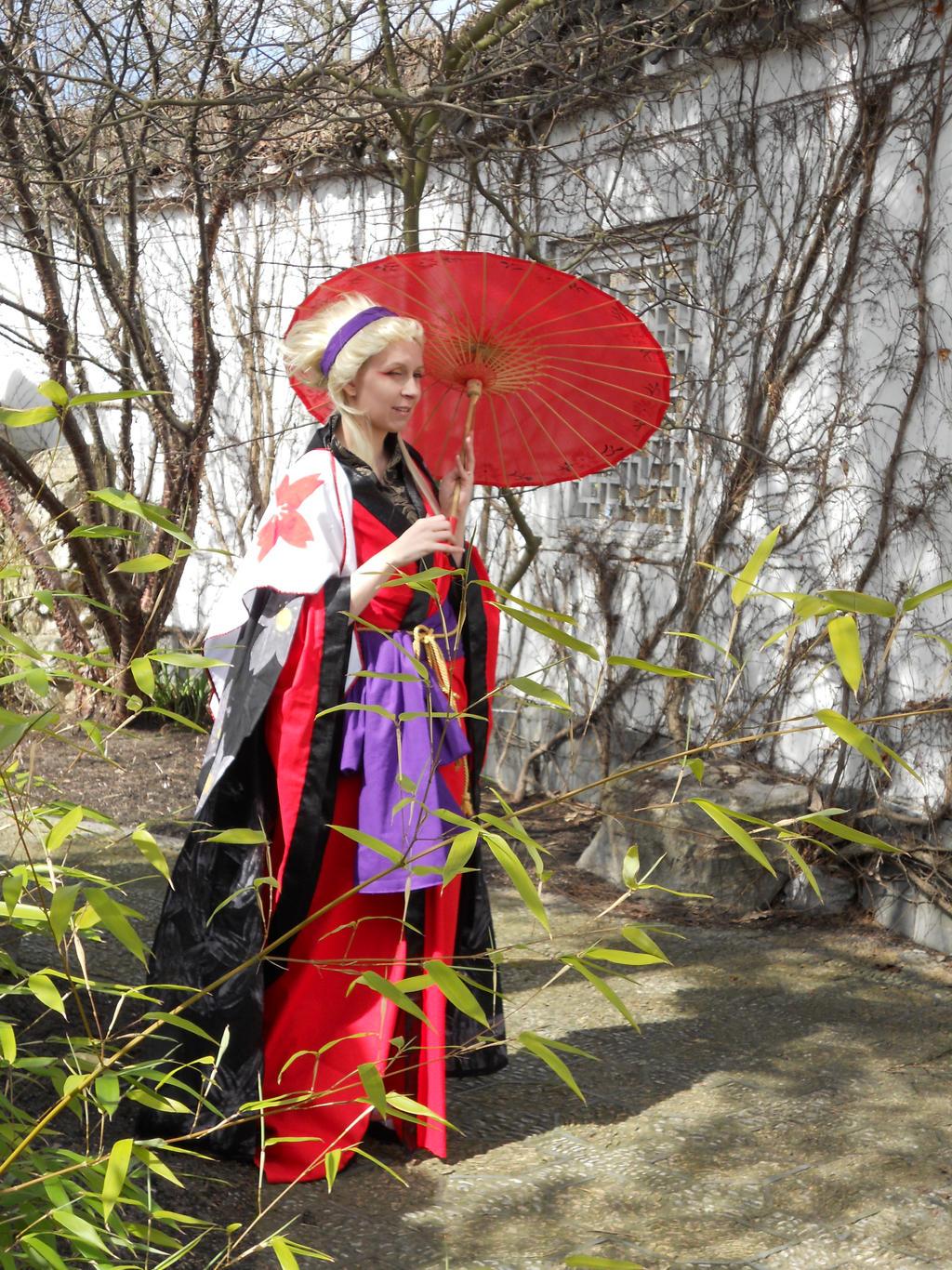 Sakura(Kimono)Gate 7 by CatGoku