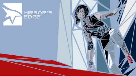 Mirror's Edge 2 Mosaic Wallpaper by klopki