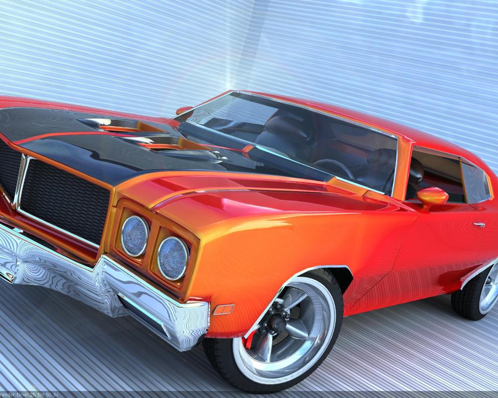 1970 Buick GSX by ~liv-u3d on