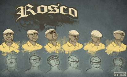 Rosco - head design